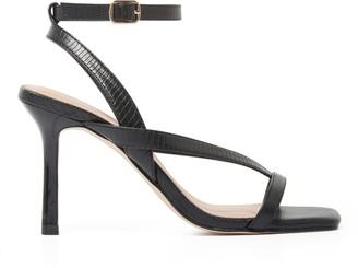 Forever New Nicole Mid-Stiletto Heels - Black - 36