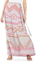 BCBGMAXAZRIA Aviva Printed Wrap Skirt