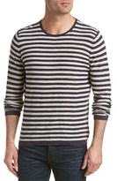 J.Mclaughlin Tides Linen-blend Crewneck Sweater.