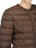 ADD Water Resistant Light Short Down Jacket
