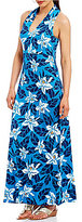 Tommy Bahama Olympias Blooms Sleeveless Maxi Dress