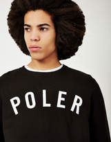 Poler State Crew Sweatshirt Black