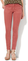 New York & Co. Soho Jeans - Color SuperStretch Legging - Spice