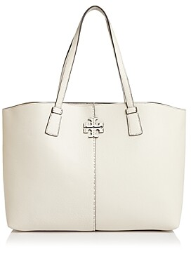 Tory Burch McGraw Large Leather Tote
