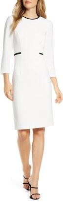 Harper Rose Body-Con Sheath Dress