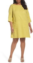 Eileen Fisher Plus Size Women's Organic Cotton Gauze Tunic