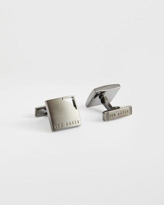 Ted Baker Square Cufflinks With Corner Cut Out