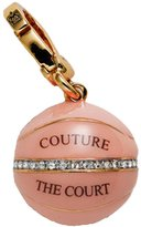 Juicy Couture Enamel Basket Ball Charm - Gold Plated Charm