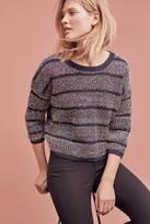 Monogram Twinkled Stripe Pullover