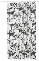 Danica Studio Saddle Up Horse-Print Cotton Shower Curtain