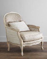 Horchow Massoud Ladonia Bergere Chair