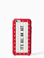 Kate Spade Jeweled all an act iphone 6 case