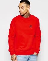 Nike Sweatshirt In Red 809058-657