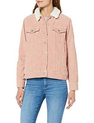 LTB Women's ODDI Denim Jacket, (Pale Pink WASH 51844), 8 (Size: XS)
