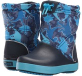 Crocs Crocband Lodge Point Graphic Boot (Toddler/Little Kid)