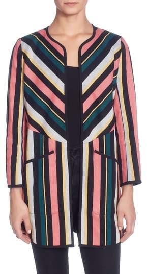 Catherine Malandrino Pip Stripe Jacket