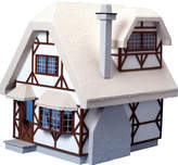Aster Greenleaf Dollhouses Cottage Dollhouse