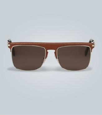 Loewe Flat top metal sunglasses