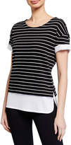 Marc Ny Performance 2fer Striped Tee