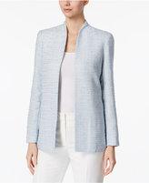 Calvin Klein Stand-Collar Bouclé Blazer