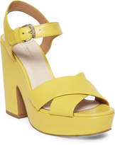 Kate Spade grace leather platform sandals