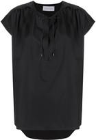 Christian Wijnants Taping short-sleeve blouse