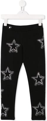Philipp Plein Junior Stars leggings