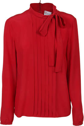 RED Valentino Red Silk Blouse