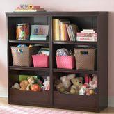 """Espresso Flat Top Bookcase, 48"""""""