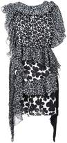 Givenchy Asymmetric Clover Dress