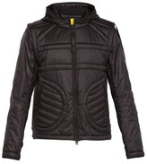 Craig Green 5 Moncler Hooded Quilted-logo Jacket - Mens - Black