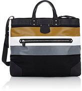 Ghurka Women's Larsen Weekender Tote Bag-BLACK