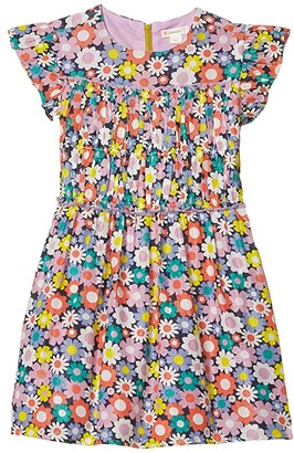 J.Crew crewcuts by Flower Dress (Toddler/Little Kids/Big Kids) (Poppy Yellow Multi) Girl's Clothing