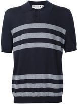 Marni striped polo shirt