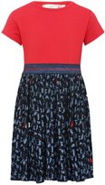 M&Co Cat print pleated skater dress