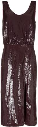 Johanna Ortiz Tarantella sequinned backless dress