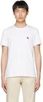 Burberry White Tunworth T-Shirt