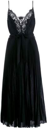 Ermanno Ermanno pleated cami-styled evening dress