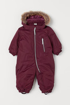 H&M Water-repellent Snowsuit - Red