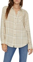 Sanctuary Keepers Plaid Boyfriend Shirt