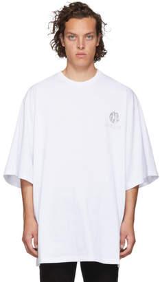 GCDS White Extra Palazzo T-Shirt