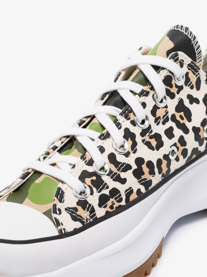 Thumbnail for your product : Converse Black Multicoloured Run Star Hike Low Top Sneakers