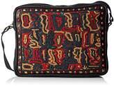 Antik Batik Myrez Bag, Women's Tote, Noir (), 5x20x24 cm (W x H L)