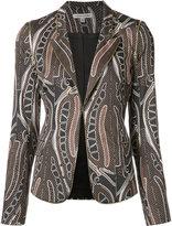 Sophie Theallet Pine Cone print blazer - women - Cotton/Polyimide - 6