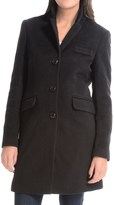 Jonathan Michael Polished Camel Hair Coat (For Women)