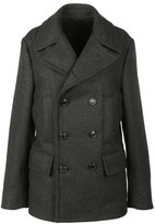 Dolce & Gabbana Quilted Back Pea Coat