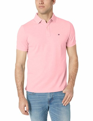 Tommy Hilfiger Men's Short Sleeve Polo Shirt in Custom Fit