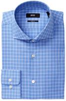 HUGO BOSS Mark Plaid Sharp Fit Dress Shirt