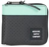 Herschel Men's Walt Rfid Zip Wallet - Black