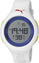Puma Unisex Digital Blue and White Watch PU910801033